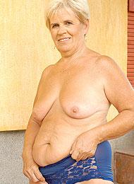 Dicke alte Frauen