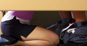 Sex in der Umkleidekabine